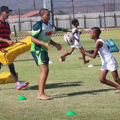 Rugby: Litte Eagles hou ontwikkelingsessies