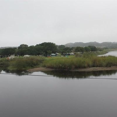 Touw River slowly choking