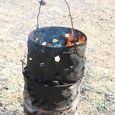Double death may be due to brazier