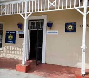 Knysna police station undergoing decontamination