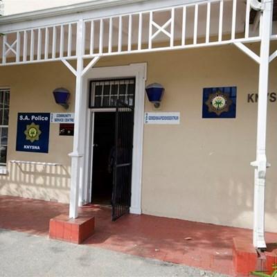 Knysna police station undergoing decontamination