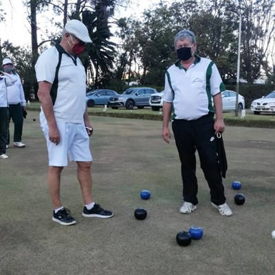Finally: bowlers back on the greens