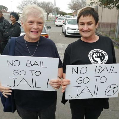 62 000 say no bail for Meghan's suspects