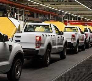New vehicle sales record marginal recovery in October