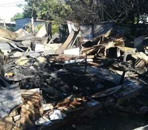 Couple dies in house fire after alleged quarrel over cash for booze