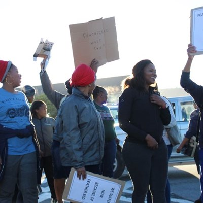 Aggrieved employees march against Featherbed Co
