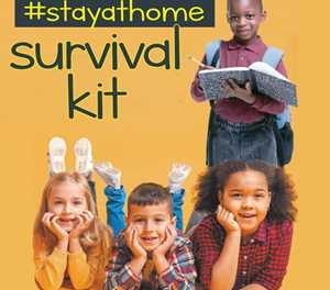 Your free #stayathome survival kit