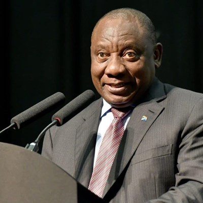 Ramaphosa upbeat about Africa's growth on the world stage