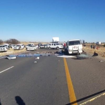 Cash-in-transit van bombed in Bloemfontein