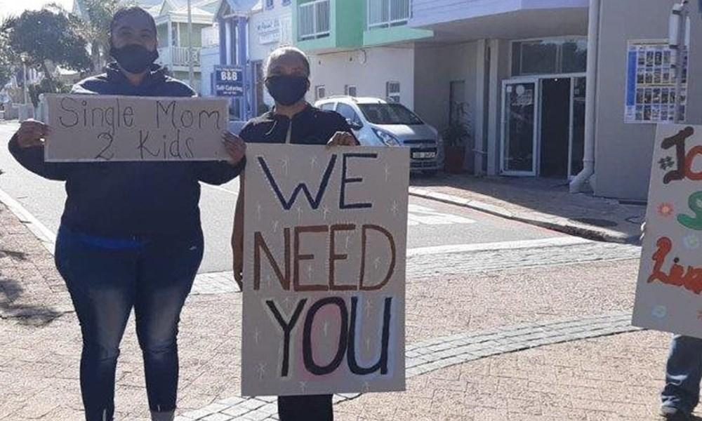 Restaurante protesteer saam