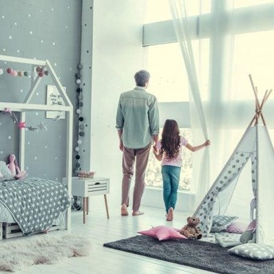 Change your children's bedrooms as they grow