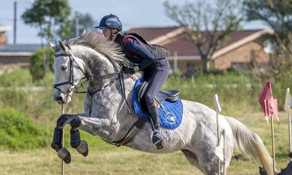 Second eventing show at George Riding Club