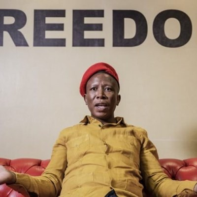 Malema says whites are too poor to run away from land seizures