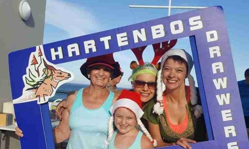 Hartenbos Drawwers vier sukses