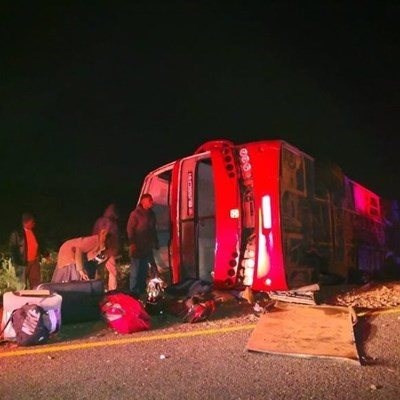 Update: 10 killed in bus accident