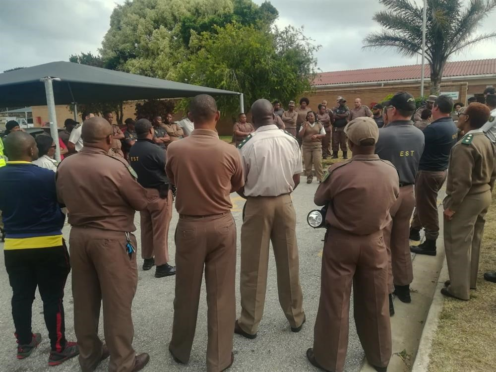 Correctional Services on high alert