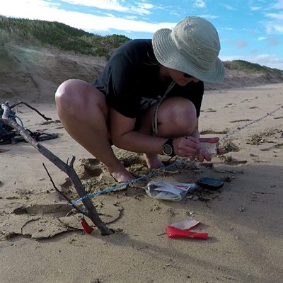 Ghost fishing, waste destroying ocean
