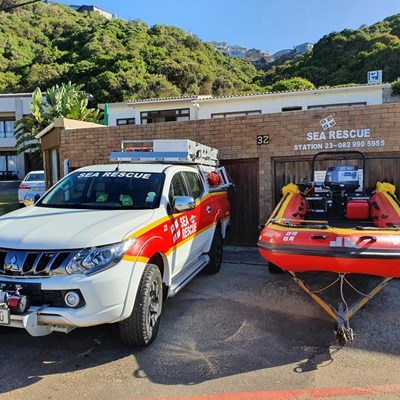 Sea Rescue: Saving time to save lives at Herold's Bay