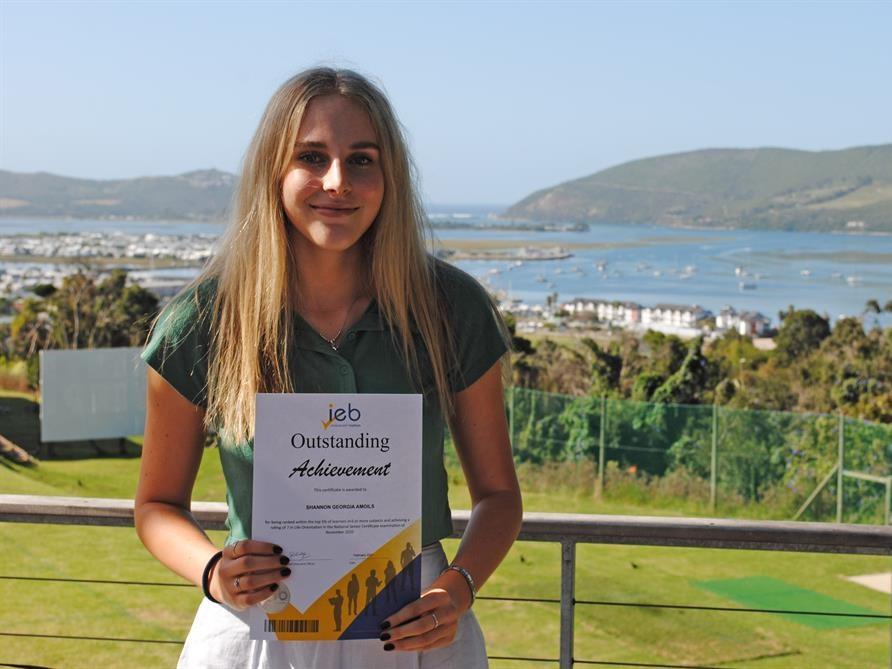 Shannon Amoils: Knysna's bright IEB star