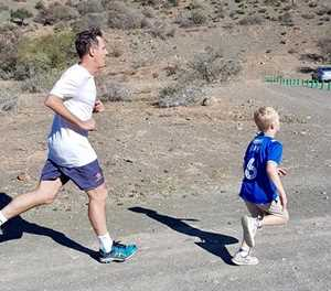 Youngsters shine at parkrun