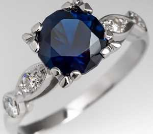 London Blue Topaz vs Blue sapphire