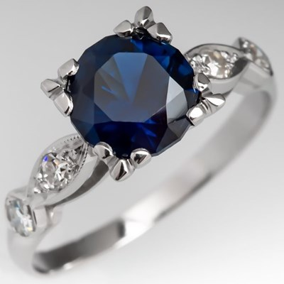 London Blue Topaz vs Blue sapphire