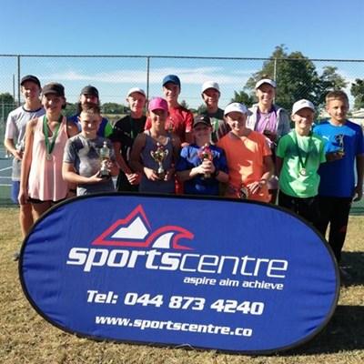 Tennis talent showcased at Eden Sportcentre Mini 3