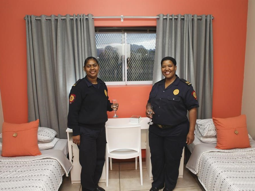 Make-over for Thembalethu fire station