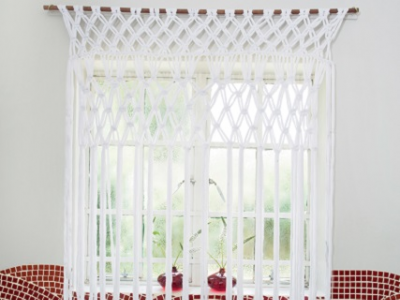 DIY: How to make your own Macrame curtains