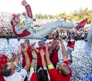 Audi clinches first Formula E victory