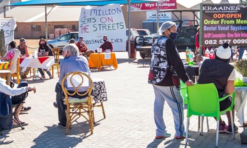Million seats on the street-protes