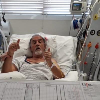 Germeshuizen recovering after cobra ordeal