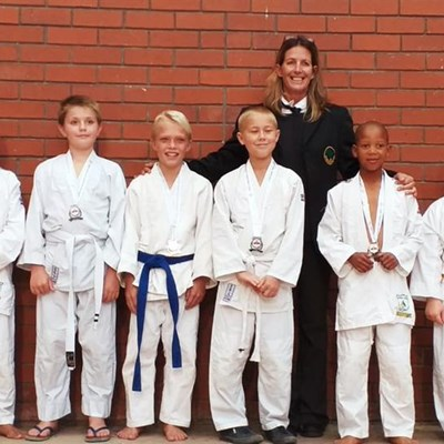 Eden judoka win 21 medals at Cape Town Open