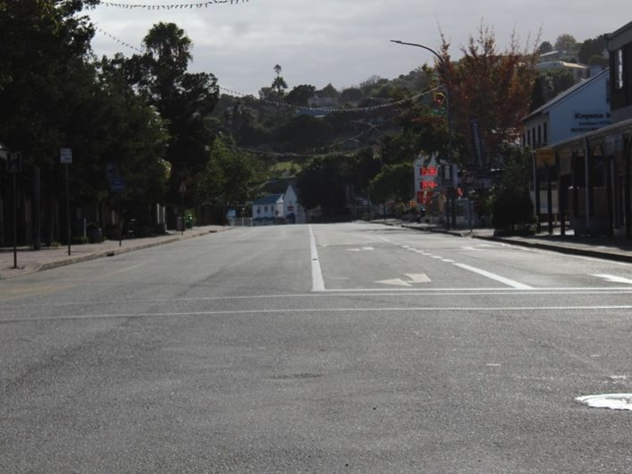 WATCH: The streets of Knysna during lockdown