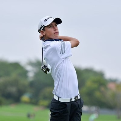 Simpson has early control in Tshwane Junior Open