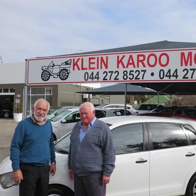 Klein Karoo Motors nou by nuwe perseel