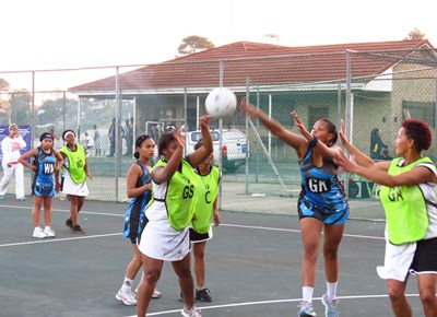 Netball tournament was action-packed