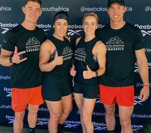 CrossFit-span durf Afrika-spanne aan