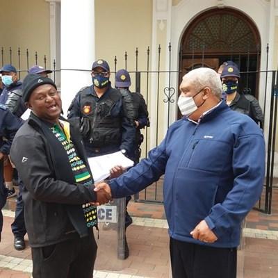 Codeta DTA protests for taxi permits