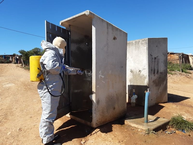 District Municipality rolls out decontamination plan