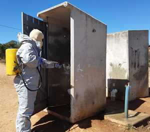Decontamination and sanitising plan rolled-out