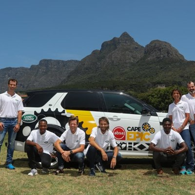 All-star Land Rover team geared up for 2020 Absa Cape Epic