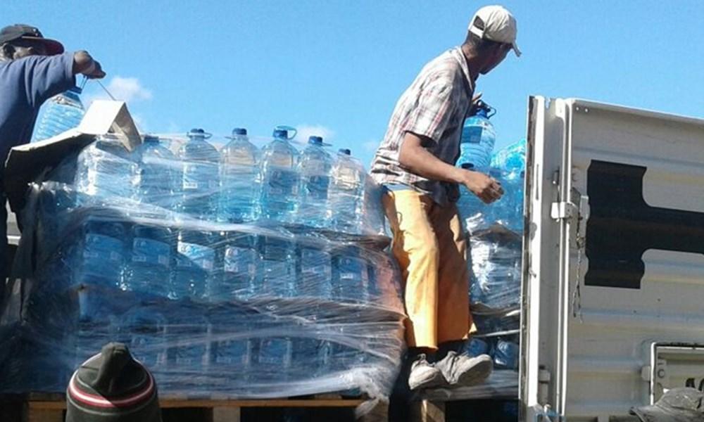 Water ingesamel vir Beaufort-Wes