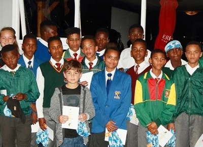 Learn to Sail School prize giving