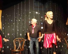 Charity cabaret in Great Brak River