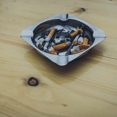 Cigarettes confiscated