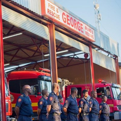 Municipality salutes the George Fire Brigade