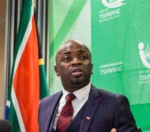 Tshwane mayor Solly Msimanga faces the chop