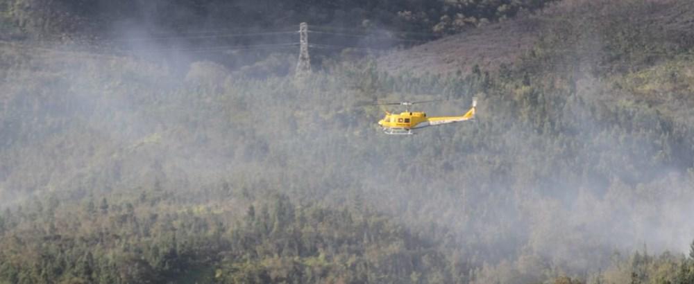 Outeniqua Mountains fire