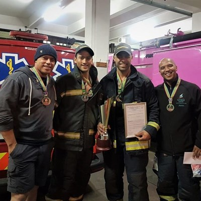 Garden Route firemen win again